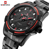NAVIFORCE Brand Full Steel Army Military Quartz Wrist Watch - On Trends Avenue