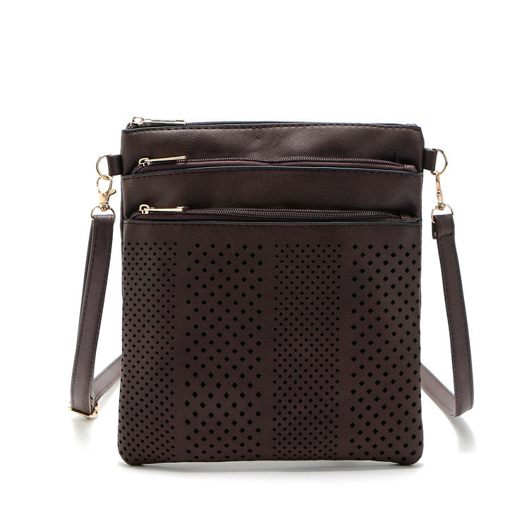 Fashion Small Bag Women Messenger Bags Soft PU Leather Hollow Out Crossbody Bag For Women Clutches Bolsas Femininas Bolsa - On Trends Avenue
