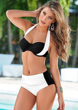 Available in Large Sizes Push Up Bikini Set Bathing Suits - On Trends Avenue