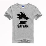 Available in Large Sizes Japan anime Dragon Ball Z T Shirt Super Saiyan Short Sleevest shirt men Son Goku Tees Tops Men Clothes Plus size - On Trends Avenue