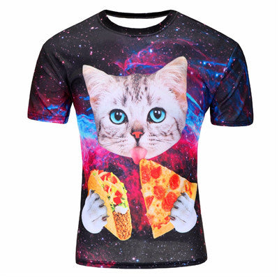 New Summer 2016 Fashion Thinker Abstract Printing T-shirt Unisex Breathable Casual 3d T Shirt For Men/Women Harajuku Tee Shirt - On Trends Avenue