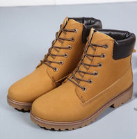 Women Men boots Fashion Martin Boots Snow Boots Outdoor Casual cheap Timber boots Winter Lover shoes ST01 - On Trends Avenue