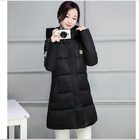 Available in Large Sizes Slim Parka Ladies Coat - On Trends Avenue