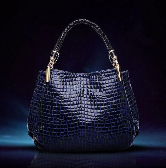 New Fashion Leather bolsas femininas Women Bags Shoulder Bag Female Tote Sac Crocodile Bag messenger bags - On Trends Avenue
