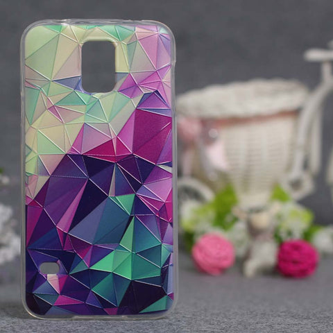 Luxury 3D Case For Samsung S5 Phone Case Silicone Colorful Gel Cases Soft TPU Cover - On Trends Avenue
