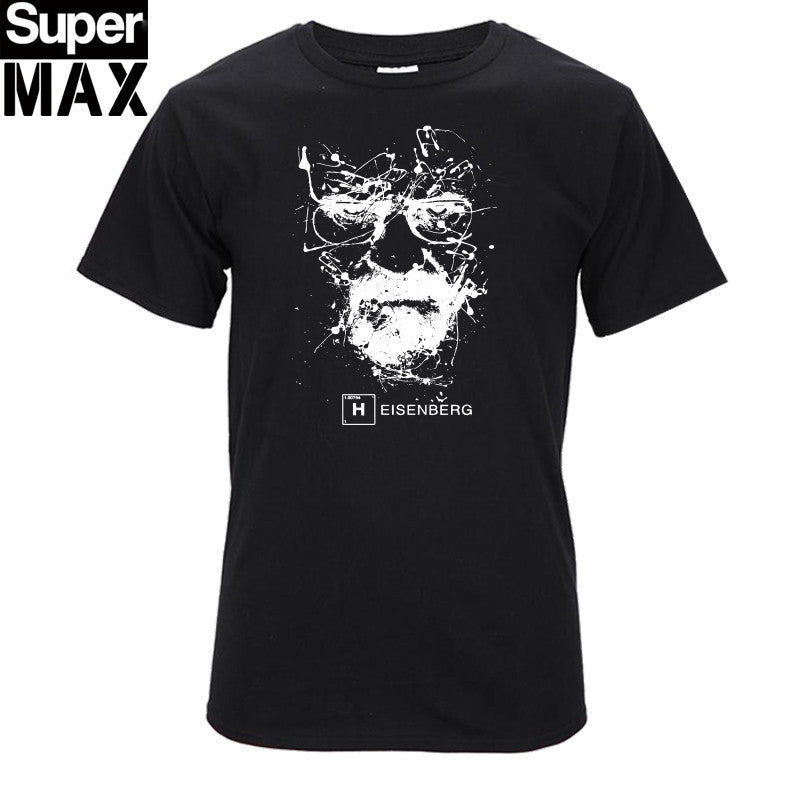 CXT03-C1 Top quality COTTON o neck heisenberg men tshirt short sleeve print casual breaking bad print T shirt for men - On Trends Avenue