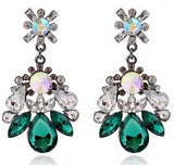 New Brand Bijoux Fashion Charms Colorful Drop Earrings Crystal Cubic Zircon Diamond Dangle Earrings Women Fine Jewelry Gift B007 - On Trends Avenue