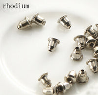 200pcs/lot Earrings Jewelry Accessories metal Ear ,Earring back,earring stopper F21 - On Trends Avenue