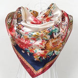 90cm*90cm Winter warm American Candy head scarf women's shawls and scarves - On Trends Avenue