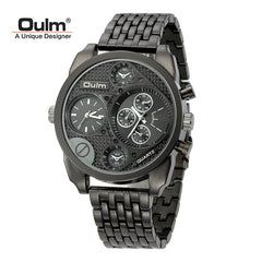 Black Gold Individuality Big Watch Man Luxury Brand Quartz Wrist Watches - On Trends Avenue