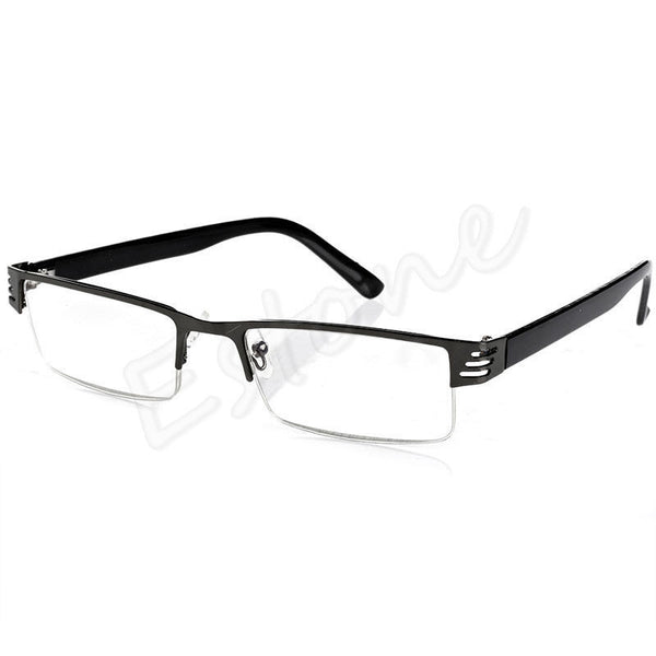 so afordable buy 4 or 5 have 1 in every room 1pc blue film resin reading glasses 100 150 200 250 300 350 400 diopter