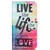 Phone Cases Covers For Samsung Galaxy S6 Flip PU Leather Silicone Magnetic Stand Wallet Protect For Galaxy S6 w/ Card Holder - On Trends Avenue