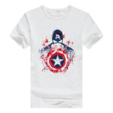 Fashion Marvel print t shirt Superhero Spiderman/superman t shirt Casual Shirt Captain America Batman Green Lantern T-shirt - On Trends Avenue