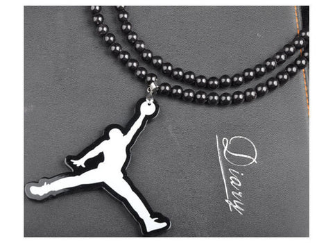 Brand Hip Hop Necklace Men Stainless Steel Long Chain Basketball Athlete Pendant Necklaces Male Jewelry Gift - On Trends Avenue