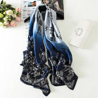 180x90 Women Pure Silk Scarf - On Trends Avenue