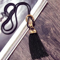 New Arrival Women Pendant Necklaces Exquisite All-match Chain Tassel Sweater Long Chain Necklace And Accessories. - On Trends Avenue
