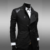 New Arrival British Style Blazer Men Suit Jacket Casual Blazers Dress Jackets Terno Masculino 13M0449 - On Trends Avenue