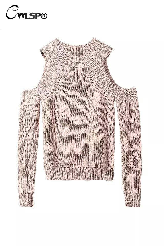 Warm Sweater Fashion Off Shoulder Pullovers Half Turtleneck 6 Colors - On Trends Avenue