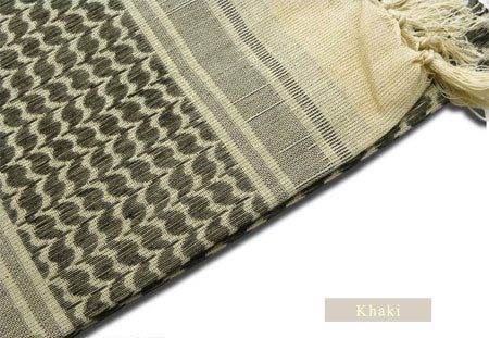 100% Cotton Scarf, Men Women Arab Muslim Shemagh Military Hijab Scarves, High Quality Good Gift - On Trends Avenue