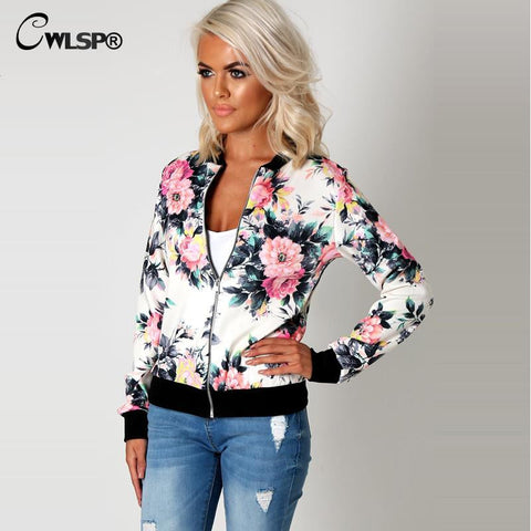 Floral Print Camouflage Jacket in Multiple Styles - On Trends Avenue