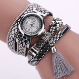 Paradise 1Pc New high quality Women's Fashion Faux Leather Rhinestone Analog Quartz Wrist Watches July04 - On Trends Avenue