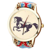 Paradise high quality Fashion New Women Ladies Horse Rope Knitted Watches June16 - On Trends Avenue