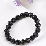 2 PCS Bracelet 13 Colors Crystal Bead Bracelets - On Trends Avenue