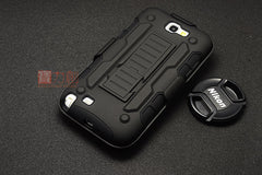 3 in 1 Combo Armor Phone Case for Samsung Galaxy Note 5 Shockproof Hard Case With Belt Clip Holster Stand - On Trends Avenue