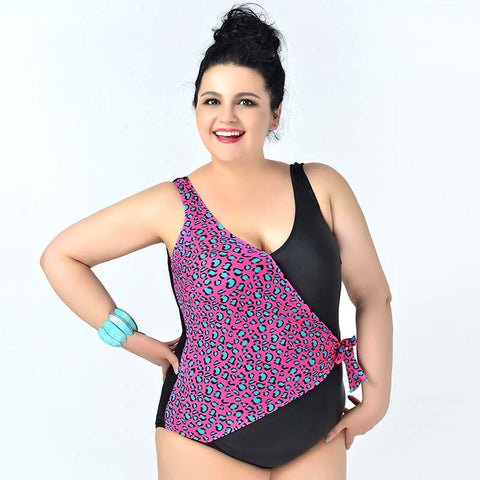 Available in Large Sizes  One piece  Plus size Swimwear - On Trends Avenue