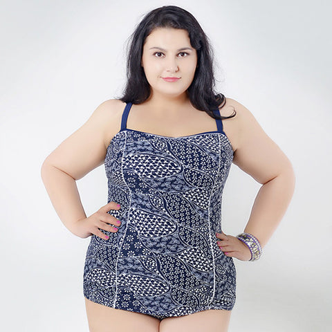 Available in Large Sizes  One piece  Plus size Swimsuit - On Trends Avenue