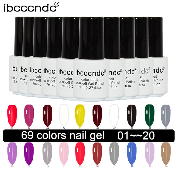 7ml Uv LED Gel Nail Polish - On Trends Avenue