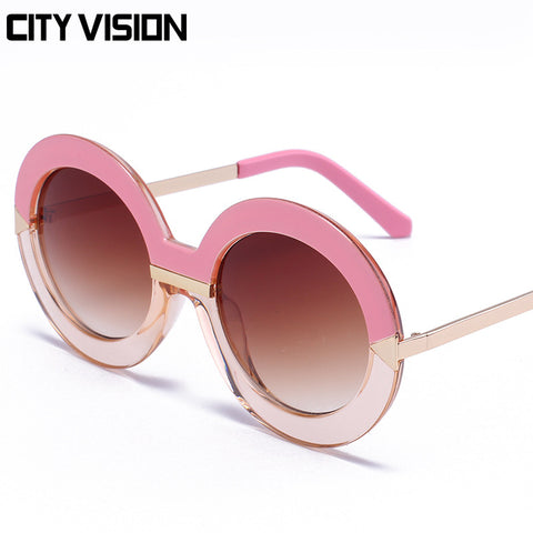 Womens vintage oversize sun glasses in multiple colors - On Trends Avenue