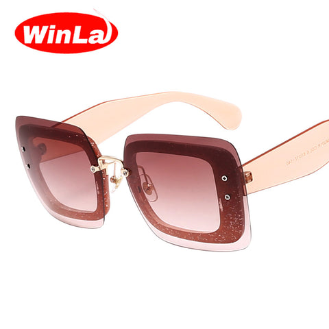 Winla New Women Sunglasses Luxury Brand Designer Sunglasses Fashion Ladies Sunglasses Colorful Frame Gradient Lens Shades UV400 - On Trends Avenue