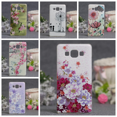 Luxury Phone Cover For Samsung Galaxy A5 Cases 3D Relief Painting Soft Silicon Back Cover Case for Samsung A5 A500 A5000 - On Trends Avenue