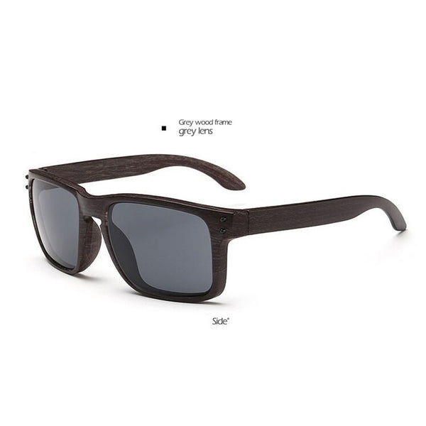 wood Sunglass Mens Sports Oculos de sol Sun glasses Square Women men brand Designer Glasses VR 46 VR46 mirror colorful - On Trends Avenue