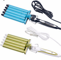 110V to 240V 30s Fast Heat Curling Iron Tools 5 Barrels Electric Hair Curler 160/190/220 Degree Adjustable Curling Wand PJ - On Trends Avenue