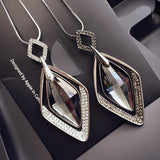 Fashion Pendant Long Necklace Female Winter Sweater Chain Length All-match Clothes Pendant Accessories - On Trends Avenue