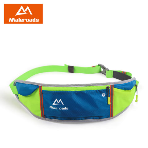 Outdoor Men Women Waist Pack Bags Sport Fitness Exercise Storage Running Sport Blet Bag for iPhone 6/6plus mobilephone Flip Belt - On Trends Avenue