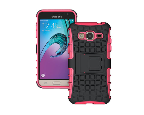 Samsung Galaxy J3 Case J300 J320 J32F Heavy Duty Armor Shockproof Rubber Silicone Phone Case Cover For Samsung J3 (< - On Trends Avenue