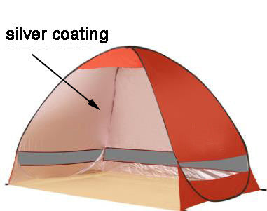 ... One second quick open outdoor c&ing fishing beach tent no need installation 1-2 people ...  sc 1 st  On Trends Avenue & One second quick open outdoor camping fishing beach tent no need ...