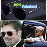 2017 Fashion Brand Designer Luxury Polarized Men Mirror Sunglasses UV400 Classic Vintage Retro Metal Sun Glasses for Men Driving - On Trends Avenue
