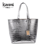 Casual Tote Crocodile Alligator Beach ladies hand bag spanish brand sac luxury handbag pochette woman bags designer dollar price - On Trends Avenue
