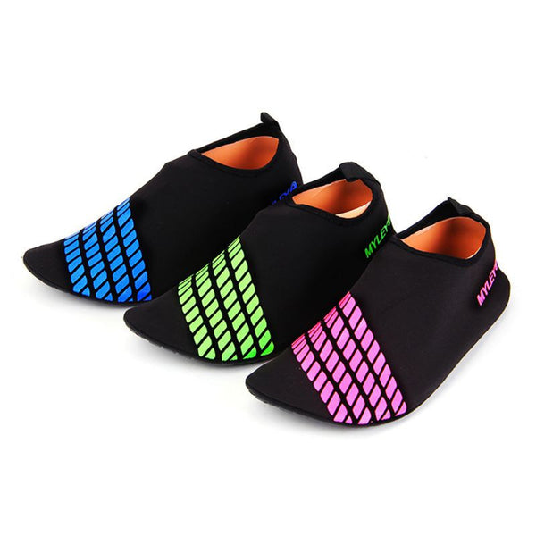 Men Woman Barefoot Skin Sock Striped Shoes Beach Pool GYM Aqua Water Socks Beach Swim Slipper On Surf - On Trends Avenue