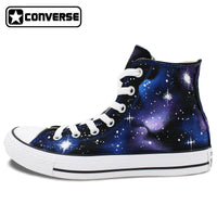 Sneakers Galaxy Converse Chuck Taylor High Top Washable Custom Hand Painted  Shoes Men Women Gifts - 2bb35544d