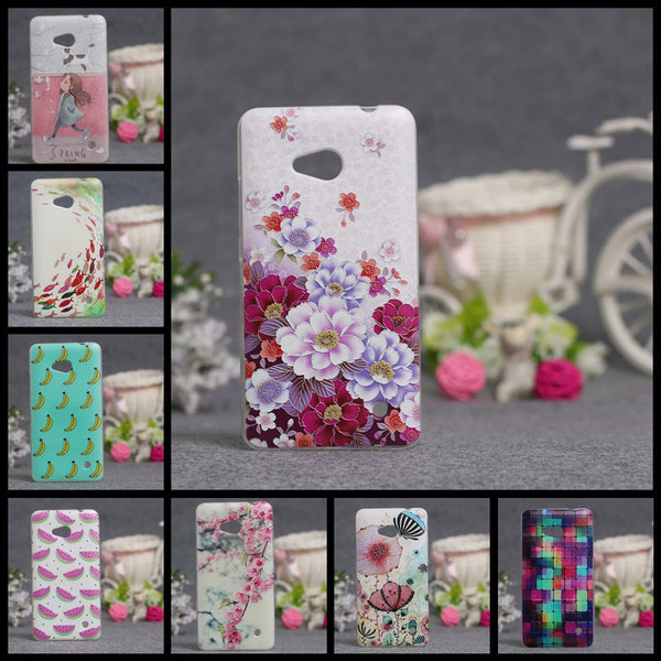 Fashionable Painted TPU Silicone Soft Cover For Microsoft Nokia Lumia 640 Case For Lumia 640 Cell Phone Back Cover Cases Shell - On Trends Avenue