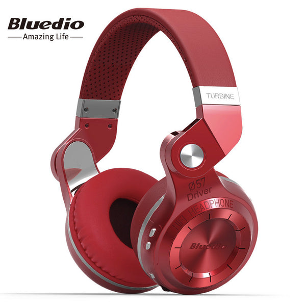 Bluedio T2S(Shooting Brake) Bluetooth stereo headphones wireless headphones Bluetooth 4.1 headset over the Ear headphones - On Trends Avenue