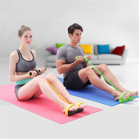 Fitness Resistance Band Rope Tube Elastic Exercise Equipment for Yoga Pilates Workout Latex Tube Pull Rope - On Trends Avenue