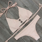 Sexy Bandage Brazilian Push up Bikini Women Swimwear Swimsuit Biquini Beach Wear Bathing Suit Bikinis Set maillot de bain - On Trends Avenue