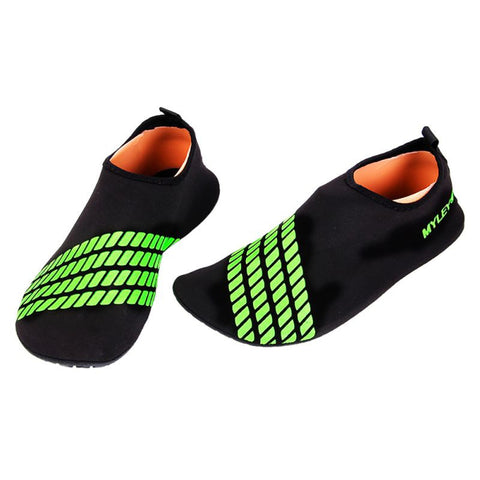 Hot Men and Women's Barefoot Sock Pele Striped Beach Shoes Swimming Pool Gymnastic Aqua Water Accessories - On Trends Avenue