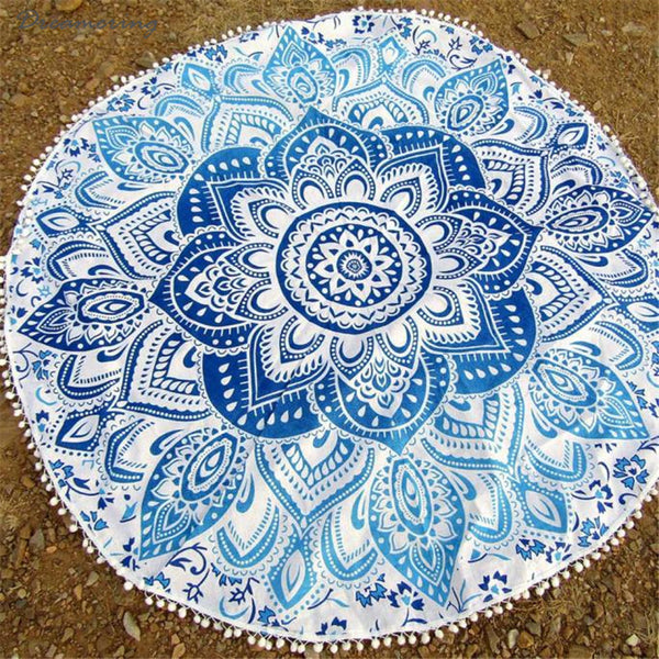 New Fashion Home Shower Towel Blanket Table Cloth Round Beach Pool Yoga Mat High Quality Hot Sale ,Dec 15 - On Trends Avenue